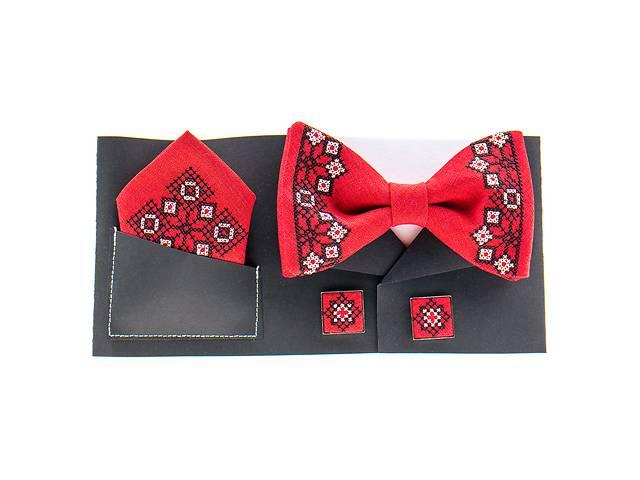 продам Вишитий метелик з хустинкою і запонками №857 бу в Чернигове