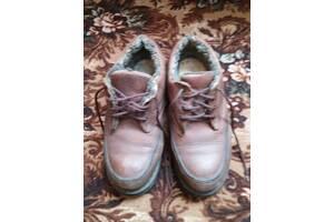 Обувь зимняя кожаная