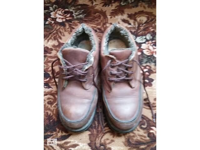 купить бу Обувь зимняя кожаная в Жидачове