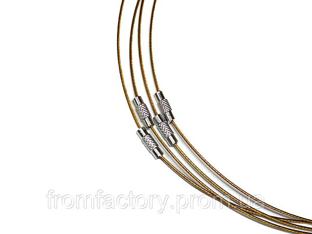купить бу Заготовка для колье металлическая (Ø14.3см):Золотой в Харкові