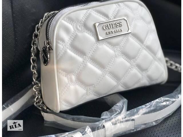 бу Женская сумка Guess Bag White в Мелитополе
