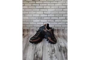 Женские кожаные кроссовки 00627