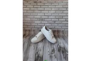 Женские кожаные кроссовки 00632