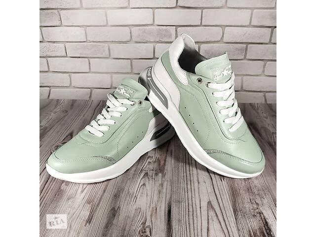 купить бу Женские кожаные кроссовки 00642 в Мелитополе