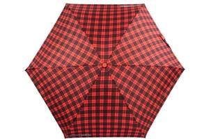 Женский автоматический зонт H Due O красный