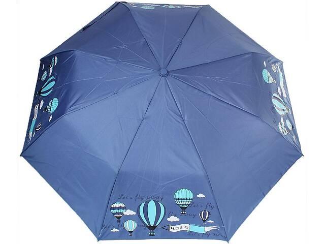 продам Женский зонт полуавтомат H Due O синий бу в Киеве