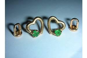 Золотые серьги женские