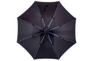Зонт-трость Bergamo полуавтомат 7130004, черный