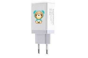 2 в 1 набор XOKO WC-220 WanderBear зарядное устройство + кабель Lighnitng