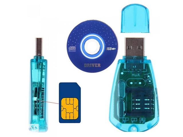 продам 2020 Новий рідер USB SIM карта рідер Simcard Writer/Copy/Cloner/Backup GSM CDMA WCDMA SMS адаптер бу в Дубні