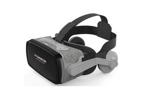 3D очки виртуальной реальности Shinecon VR SC-G07E Серые (gr_017261)