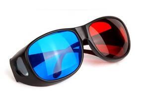 3D стерео очки (анаглифные) профессиональной серии  (nov_0904)