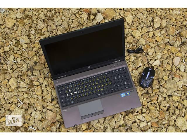 4х ядерный Игровой металлический HP ProBook l Надёжный ноутбук для игр