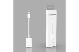 Адаптер XOKO MH-350 Lightning - USB з кабелем белый