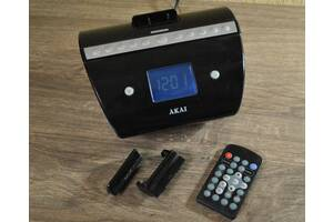 AKAI AM/FM Stereo Radio, Apple Docking IP1037