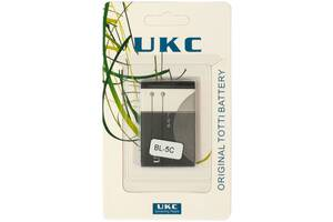 Аккумуляторная батарея UKC BATTERY BL5C блистер