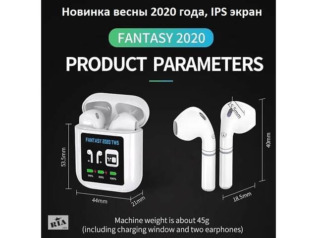 купить бу Apple Aipods TWS Fantasy 2020 , IPS екран, павербанк, новий чіп в Харкові