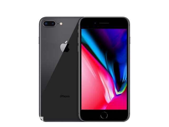 купить бу Apple iPhone 8 Plus 64GB Space Grey Neverlock Refurbished + Силиконовый чехол + Защитное стекло 2.5D в Киеве