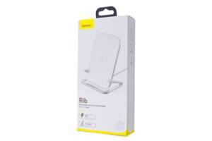 Baseus Rib держатель для телефона IPhone с беспроводной зарядкой
