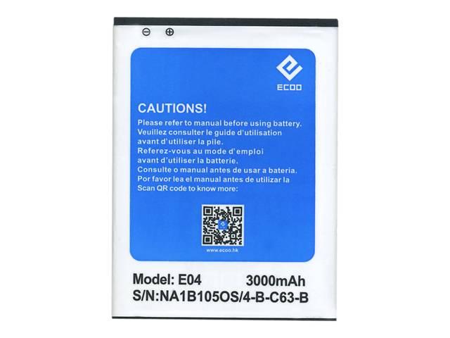 продам Батарея ECOO E04 Elephone/Ecco/AKKU/PIL/Bluboo X6 3000 мА*ч бу в Киеве