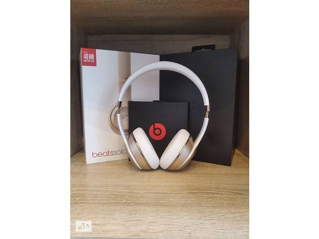 купить бу Beats by Dr.Dre Solo3 (Gold) Original в Ужгороді