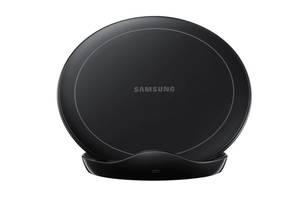 Беспроводное зарядное устройство Samsung Wireless Charger Stand [LO] with TA 12W Black EP-N5105TBRGRU
