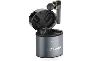 Беспроводные Bluetooth наушники BlitzWolf BW-FYE8 с поддержкой APTX (Черный)