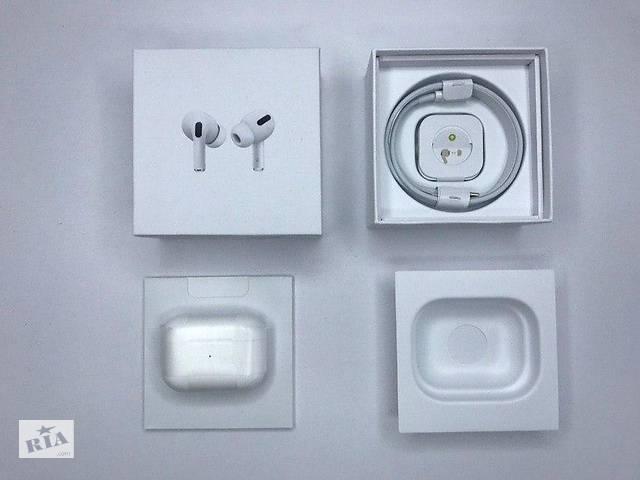 продам Бездротові навушники Apple AirPods PRO Bluetooth 5.0 з кейсом бу в Києві