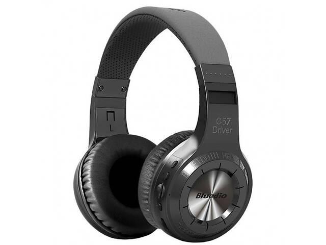 купить бу Bluetooth гарнитура Bluedio H+ Black (1151-6004a) в Києві