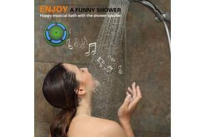 Bluetooth-колонка BassPal Shower F013 из США. IPX7 LED Light Show