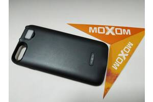 Чехол-аккумулятор Moxom для iPhone 7/8 3000 мА/ч с дополнительной встроенной вспышкой Черный
