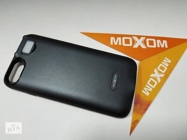 Чехол-аккумулятор Moxom для iPhone 7/8 3000 мА/ч с дополнительной встроенной вспышкой Черный- объявление о продаже  в Харькове