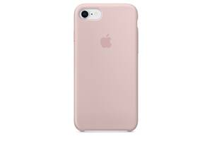 Чехол Apple Silicone Case для iPhone 7 Pink Sand