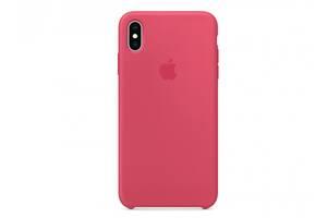 Чехол для Apple iPhone XS Max Silicone Case Hibiscus Copy