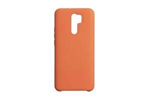 Чехол для Xiaomi Redmi 9 Оранжевый / Красный / Розовый