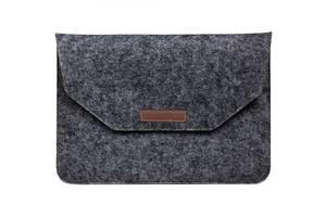 Чехол-карман из фетра для ноутбука 12 Black