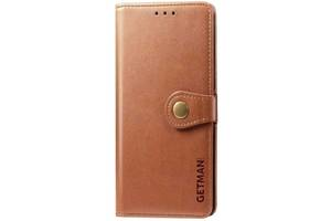 Чехол-книжка Getman Gallant Xiaomi Redmi 9 Brown (Код товара:11311)