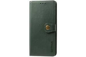 Чехол-книжка Getman Gallant Xiaomi Redmi 9 Green (Код товара:11310)