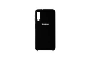 Чехол-накладка для Samsung Galaxy A7 2018 Черный (2224)