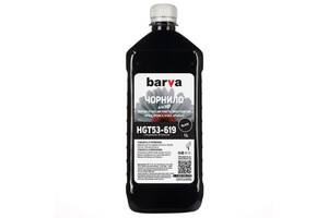 Чернила BARVA HP GT51K/GT53K BLACK Pigmented 1л (GT51-619)