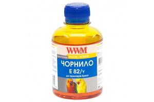 Чорнила фарба WWM E82 Epson Stylus Photo T50/P50/PX660 200 мл Yellow (E82/Y) Жовтий
