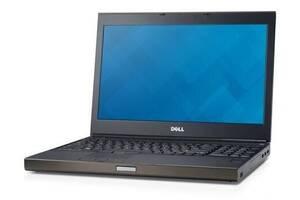 """Мобильная рабочая станция Dell Precision M4800 / 15.6"""" (1920х1080) TN / Intel Core i7-4810MQ (4 (8) ядра по 2.8 - 3.8..."""
