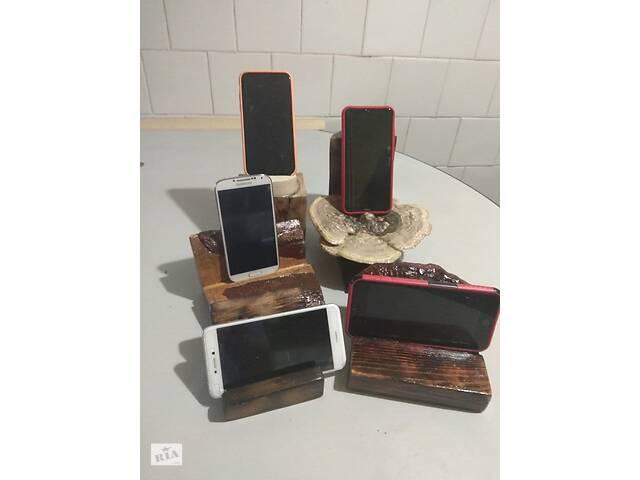 купить бу Дерев'яні підставки під телефон в Львові