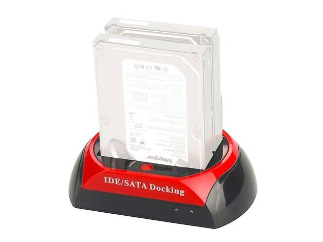 Док станция для HDD 2.5 - 3.5 дюйма Kkmoon C55 Красный (100343)- объявление о продаже  в Киеве