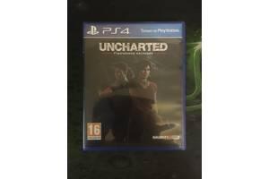 Диск для PS4 Uncharted утраченное наследие