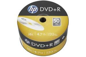 Диск DVD HP DVD+R 4.7GB 16X 50шт (69305)