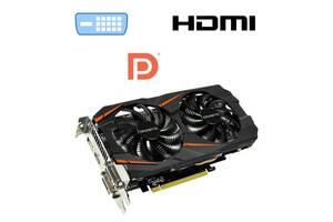 Дискретная видеоката nVidia GeForce Gigabyte GTX 1060 WindForce 2X OC, 6 GB GDDR5, 192-bit