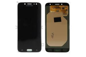 Дисплей (LCD) Samsung GH97- 20736A J730 Galaxy J7 (2017) с сенсором чёрный сервисный