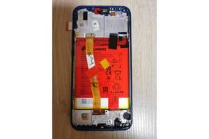 Дисплейний модуль, екран, дисплей для Huawei P20 Lite Blue (ANE-LX1) (orig)