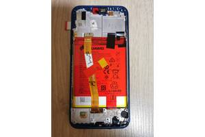 Дисплейный модуль, экран, дисплей для Huawei P20 Lite Blue (ANE-LX1) (orig)